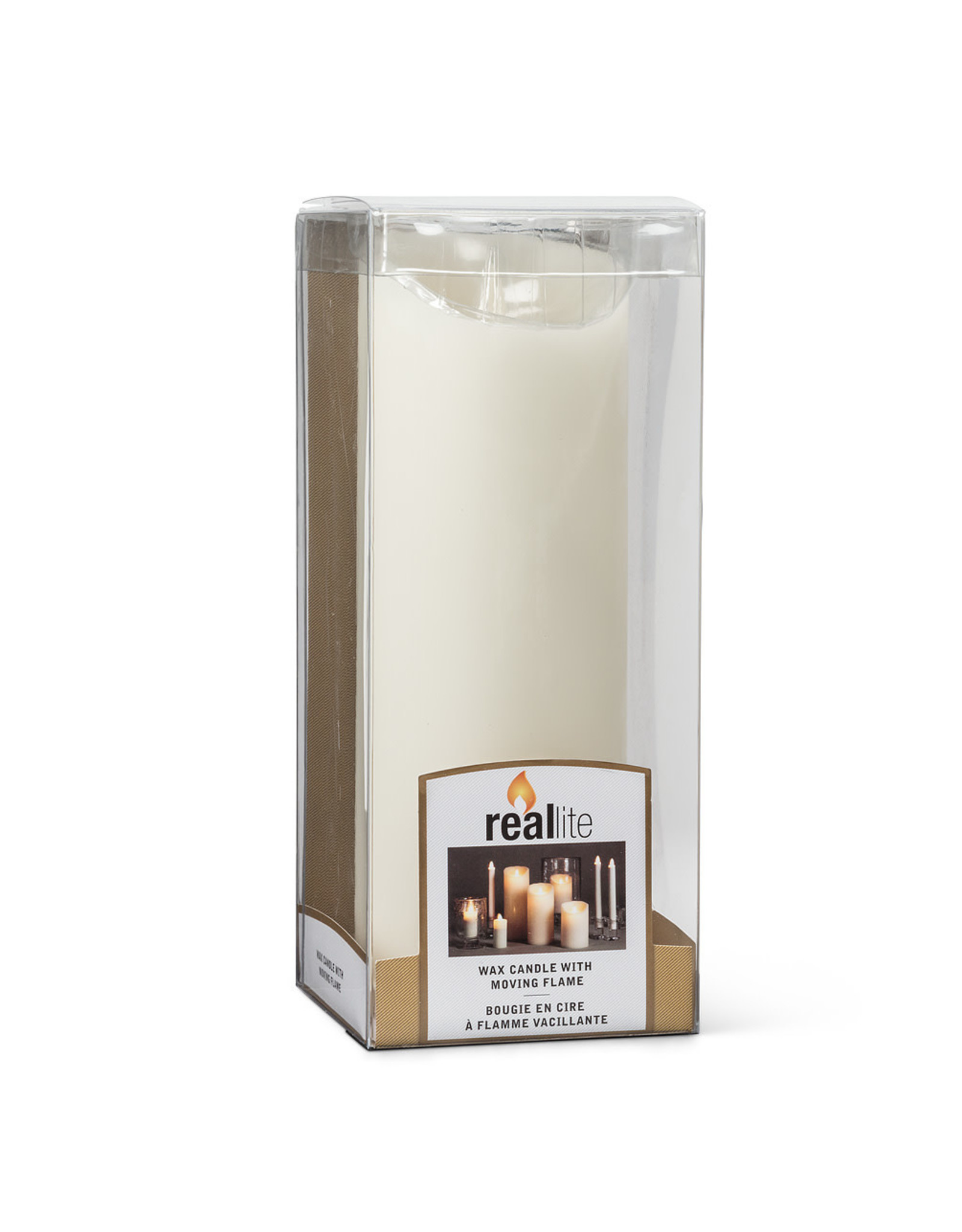 TCE Ivory Flameless Candle Large