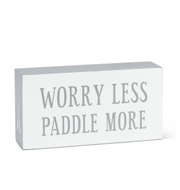 TCE Worry Less Paddle More