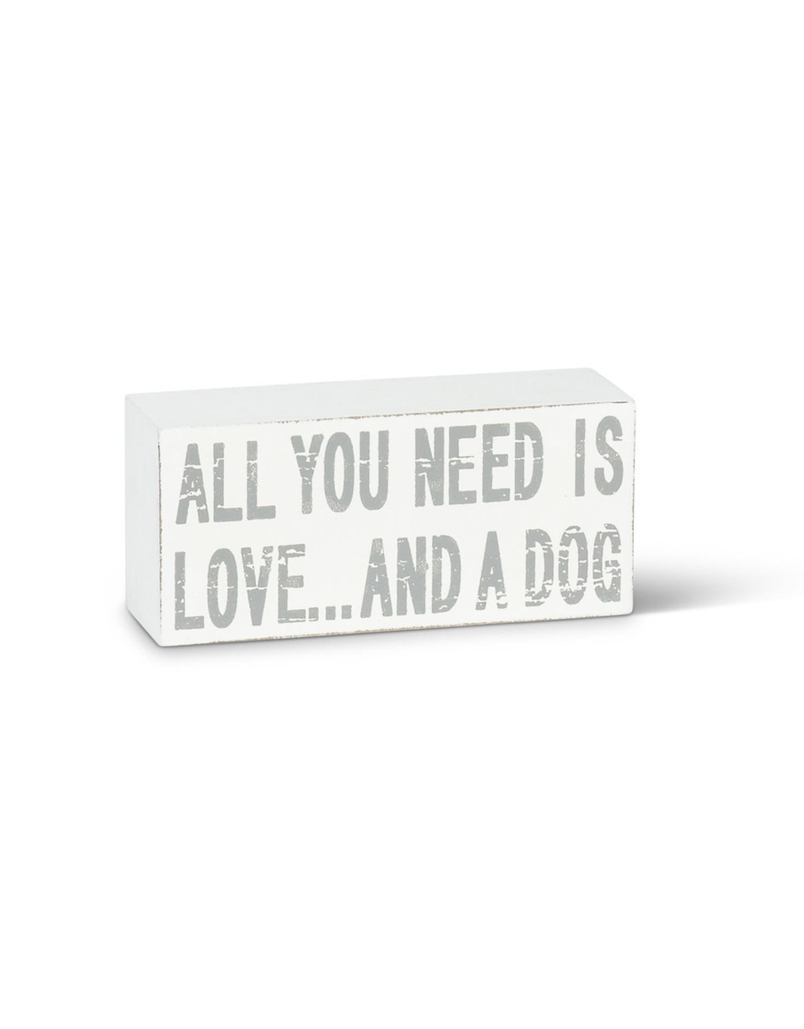 TCE All You Need Is Love And A Dog