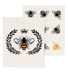 TCE Set Of 2 - Bee Dish Cloth