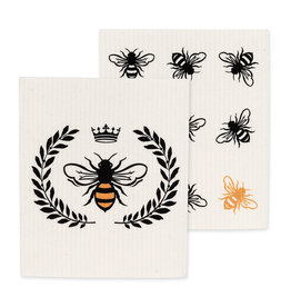 TCE Set Of 2 - Bee Dish Cloth