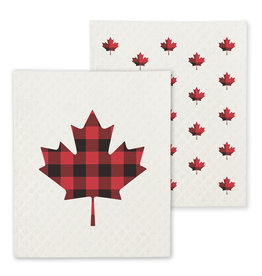TCE Set Of 2 - Maple Leaf Dish Cloth