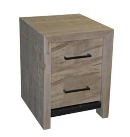 TCE Lake Muskoka 2 Drawer Nightstand
