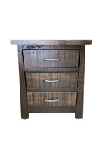TCE Mapleton 3 Drawer Nightstand