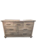 TCE Georgian 7 Drawer Dresser