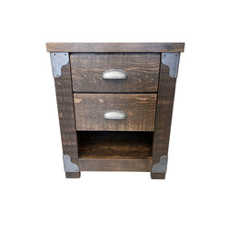 TCE Dwight 2 Drawer Nightstand