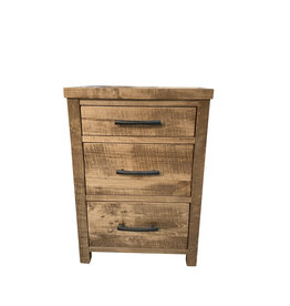 TCE Penn Lake 3 Drawer Nightstand