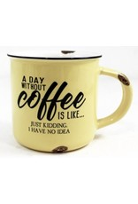 TCE Mug - A Day Without Coffee