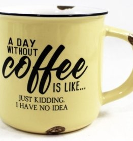 TCE Mug - A Day Without Coffee