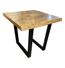 "TCE 24"" x 24"" Huron Live Edge End Table"