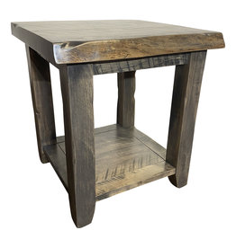 TCE Barn Series Live Edge End Table