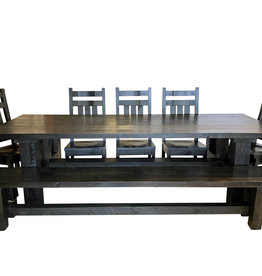 "TCE Barn Series Brace 78"" Dining Table"