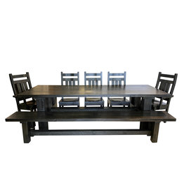 "TCE Barn Series Brace 78"" Dining Table"