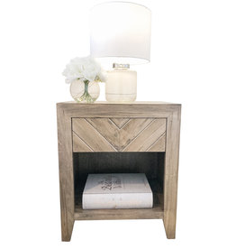 TCE Arrow 1 Drawer Nightstand