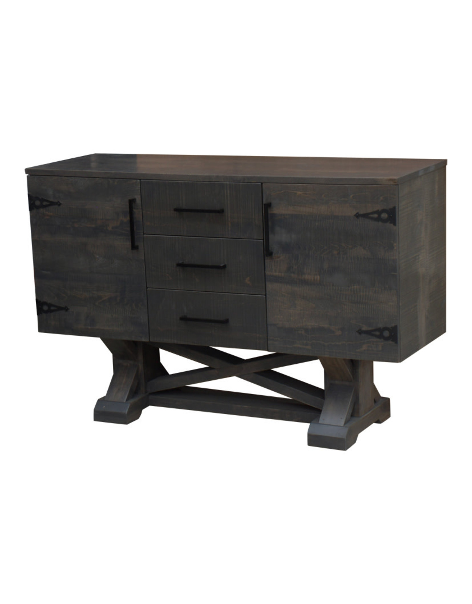 TCE Bonanza Sideboard With 3 Drawers And 2 Doors