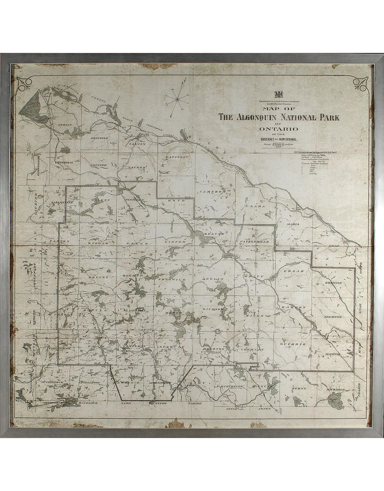 TCE Map - Algonquin