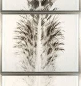 TCE Taupe Plume Triptych