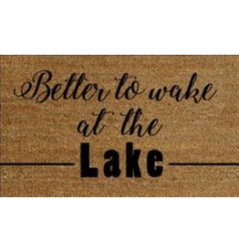 TCE Wake At The Lake Doormat