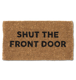 TCE Shut the Front Door Doormat