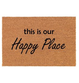 TCE Happy Place Doormat