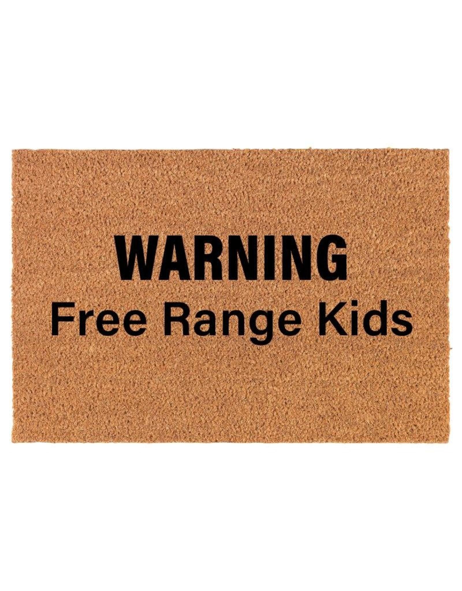 TCE Free Range Kids Doormat