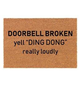 TCE Doorbell Broken Doormat