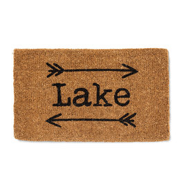 TCE Lake With Arrows Doormat