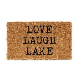 TCE Love Laugh Lake Doormat
