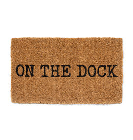 TCE On The Dock Doormat