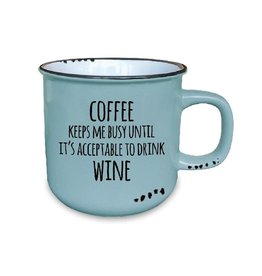 TCE Mug - Coffee Until Wine