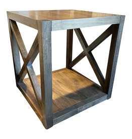 TCE X End Table