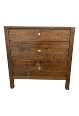 TCE Christa 3 Drawer Nightstand