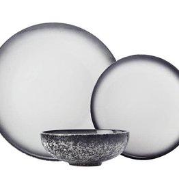 TCE Caviar Granite Dinnerware 12pc Set