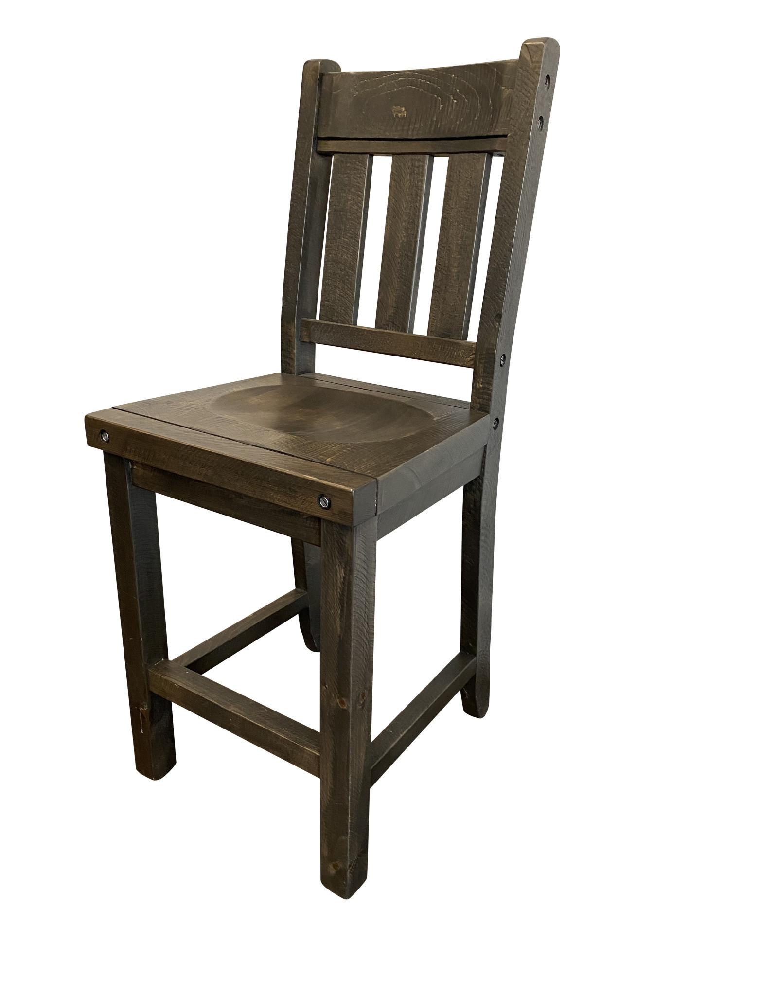 """TCE Haliburton 24"""" Block Bar Chair"""