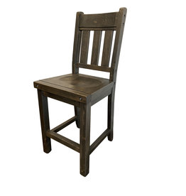 "TCE Haliburton 24"" Block Bar Chair"