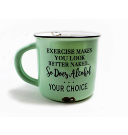 TCE Mug - Exercise / Alcohol