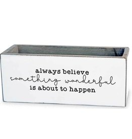 TCE Planter-Always Believe