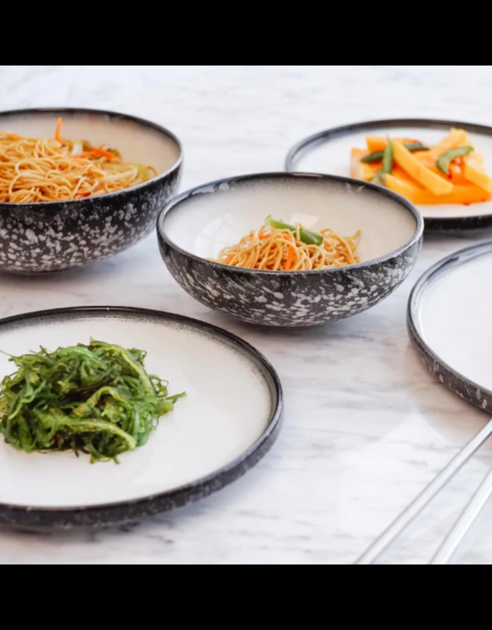 TCE Caviar Granite Dinner & Servingware