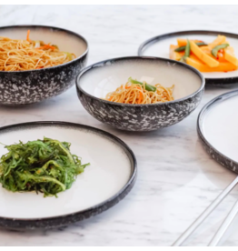 TCE Caviar Granite Dinner & Servingware