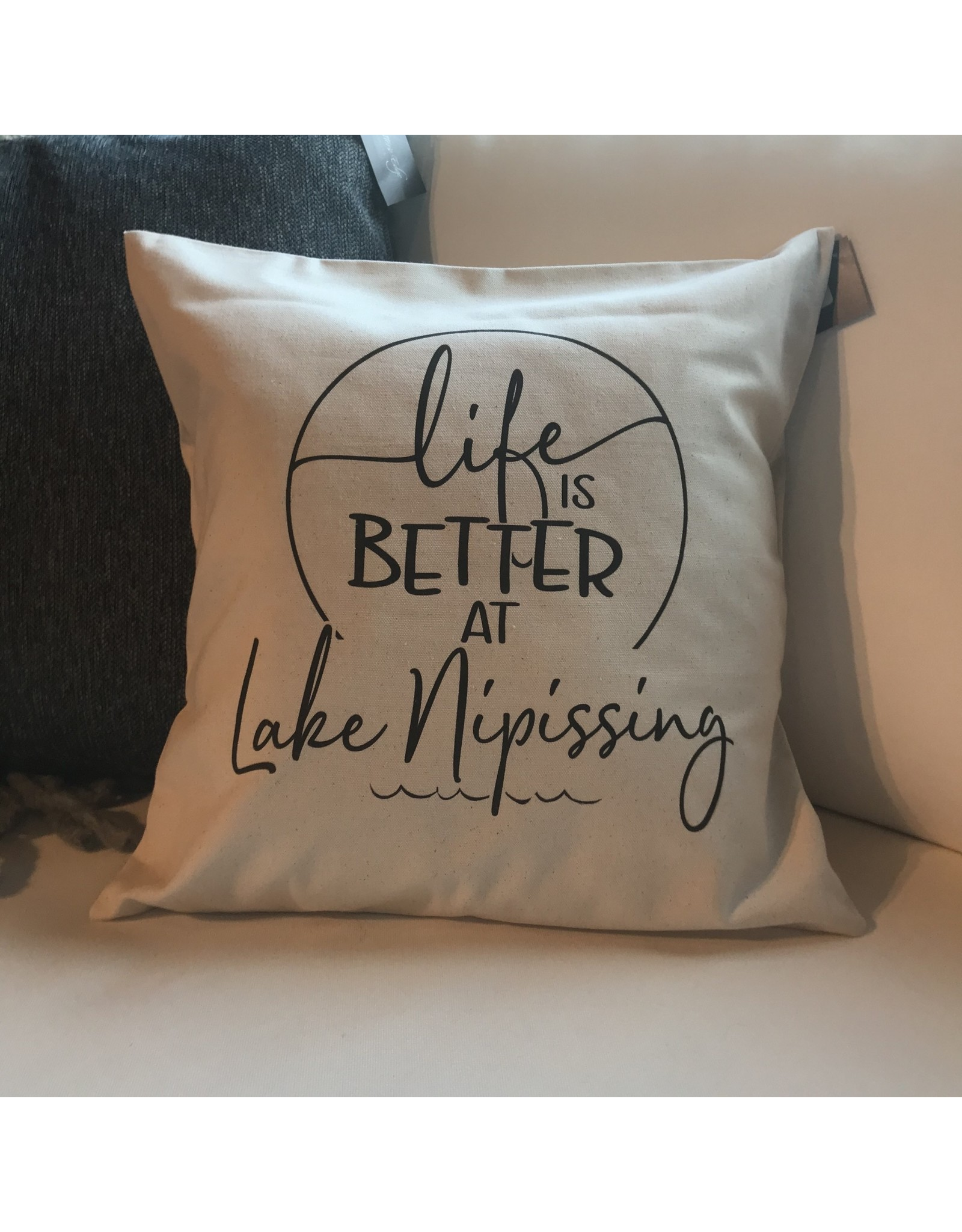 TCE Life is Better at Lake Nipissing  Pillow