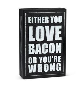 "TCE ""Love Bacon..."" Block"