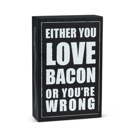 "TCE ""Love Bacon..."" Block"