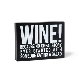 """TCE Sign _ """"Wine!…"""""""