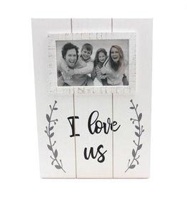 TCE I Love Us Plank Frame
