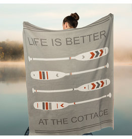 TCE Cottage Paddle Throw