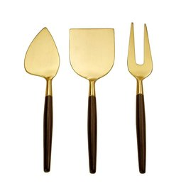 TCE Soho Cheese Knife, Wedge And Fork