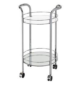 TCE Neema 2 Tier Bar Cart