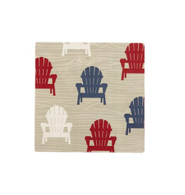 TCE Adirondack Ceramic Coaster Set Of 6