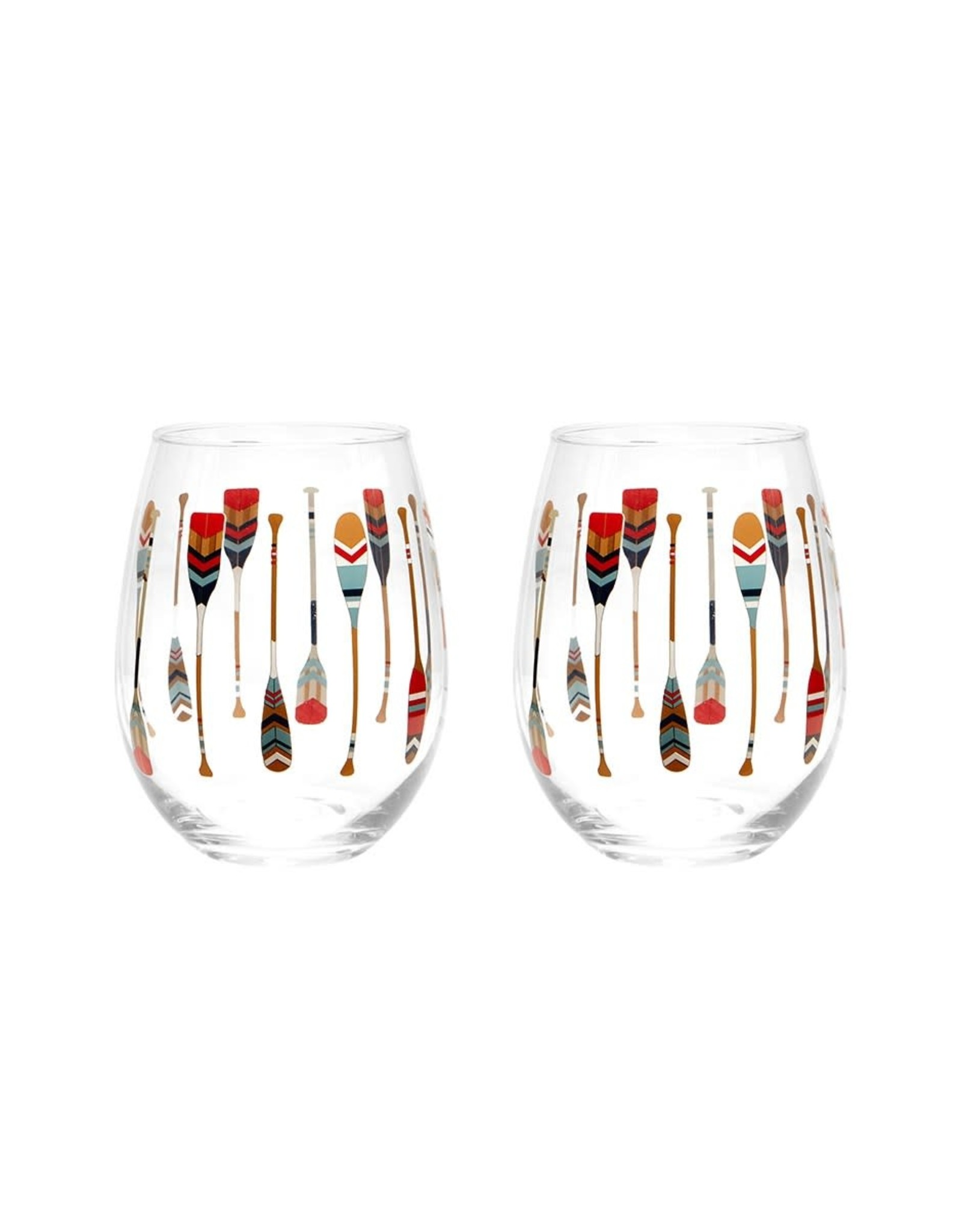 TCE Paddle Wine Glasses Set of 2