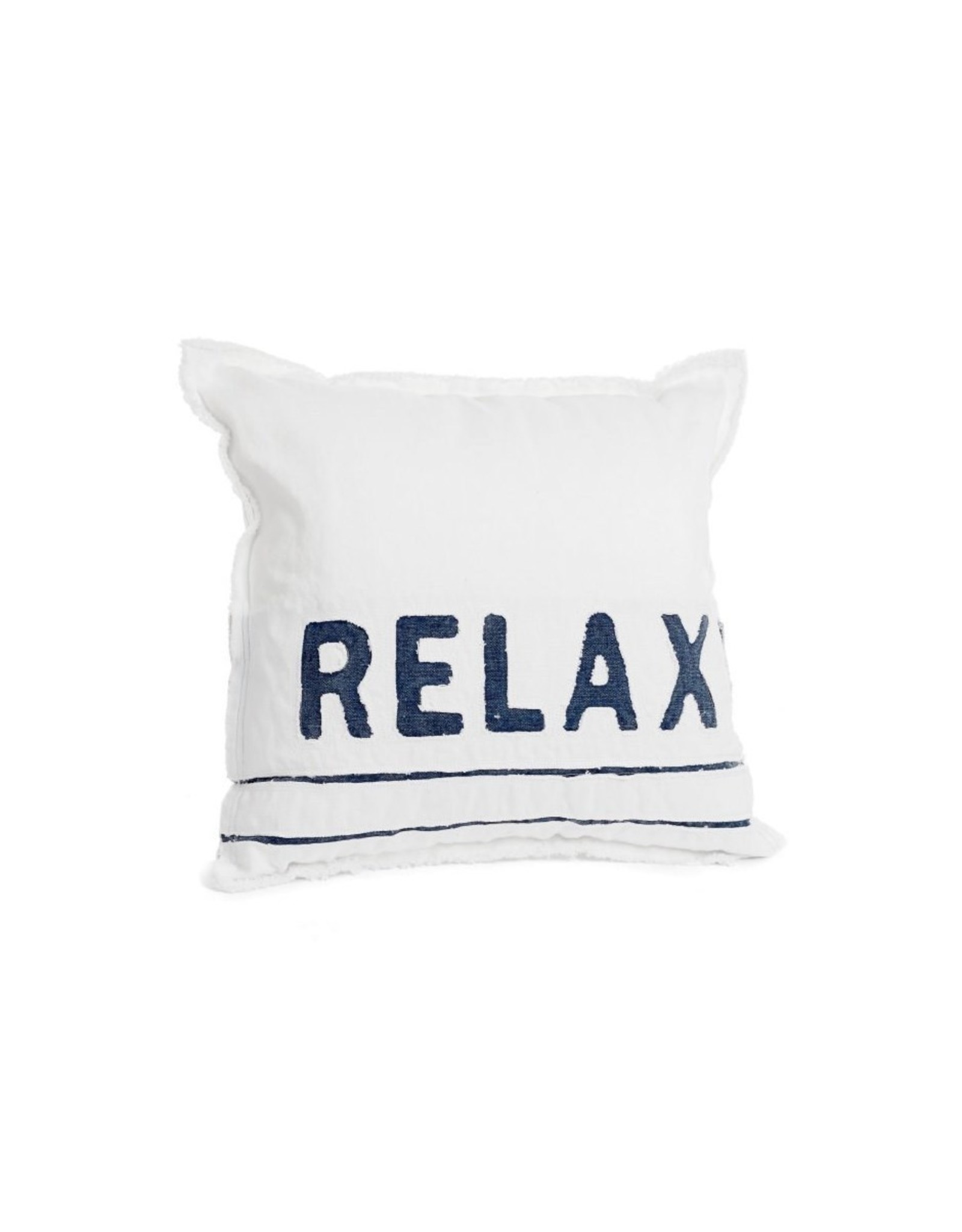 TCE Relax White/Blue Pillow
